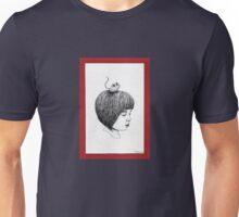 Little Girl & Mouse Unisex T-Shirt