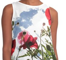 Poppies Contrast Tank