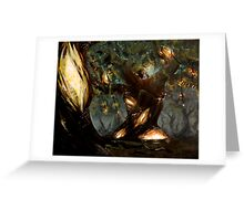 The Forest of Lights Greeting Card