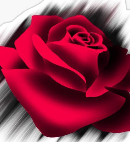 Red Rose Love Sticker