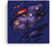 Australia Day   Show your Colours! Canvas Print