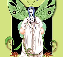 Madame Butterfly 2 by Robyn Scafone