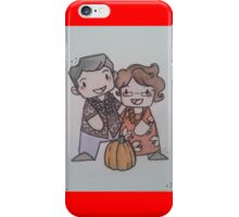Bumpity and Punk'n.  iPhone Case/Skin