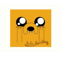Jake the Adorable Art Print