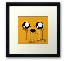 Jake the Adorable Framed Print