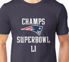 Patriots Superbowl LI - White Unisex T-Shirt