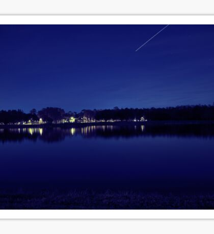 Nightview- Blue Variation Sticker