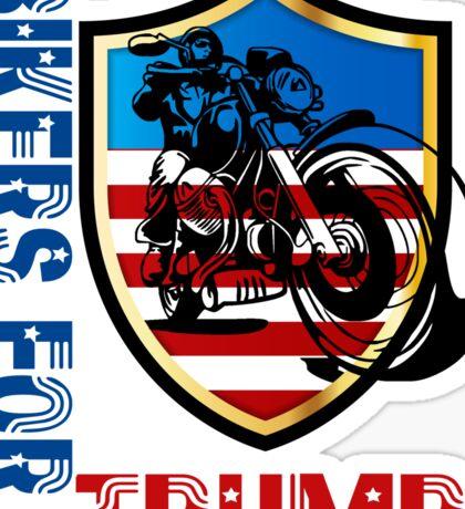 Bikers for Trump t shirt Sticker