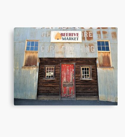 Old Beehive Market Building Canvas Print