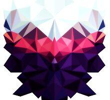 Crystal Golem Heart by papabuju