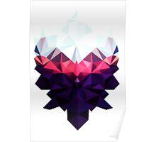 Crystal Golem Heart Poster