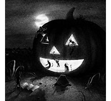 Drawlloween 2013: Pumpkin Photographic Print