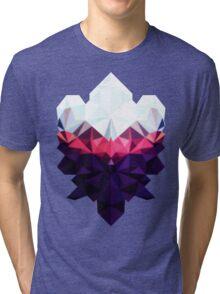 Crystal Golem Heart Tri-blend T-Shirt
