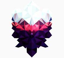 Crystal Golem Heart Mens V-Neck T-Shirt