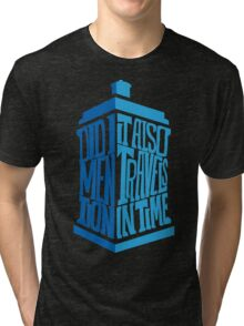doctor who dr who Tri-blend T-Shirt