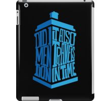 doctor who dr who iPad Case/Skin