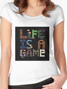 GAME Women's Fitted Scoop T-Shirt