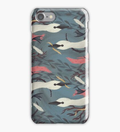 Leda and the Swan Pattern iPhone Case/Skin