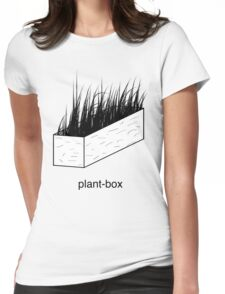 plant-box Womens Fitted T-Shirt