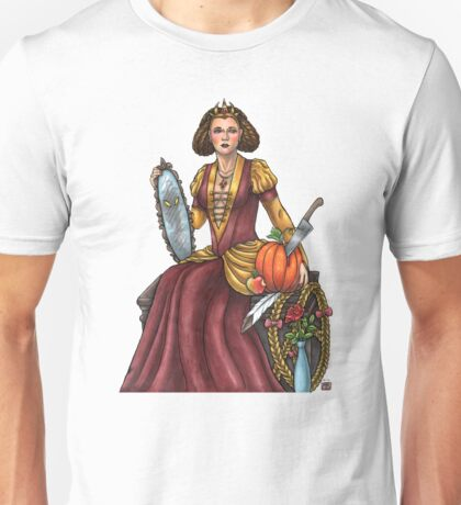 Wicked Witch Queen by Bobbie Berendson W. Unisex T-Shirt