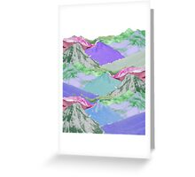 Digital Color Scape Greeting Card