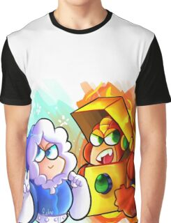 Ice and Heat Graphic T-Shirt