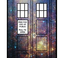 Galaxy TARDIS by peerrrrii