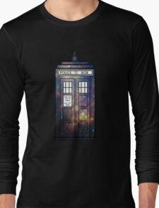 Galaxy TARDIS Long Sleeve T-Shirt