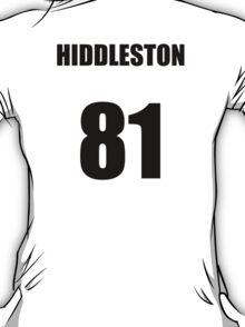 Hiddleston 81 T-Shirt