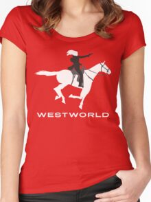 Westworld - Horse Women's Fitted Scoop T-Shirt