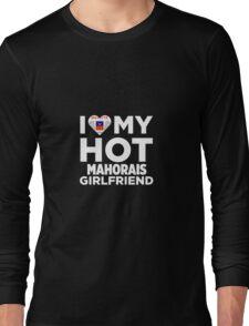 I Love My Hot Mahorais Girlfriend Long Sleeve T-Shirt