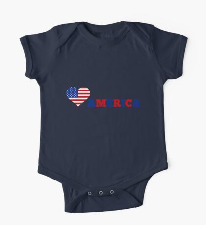America One Piece - Short Sleeve