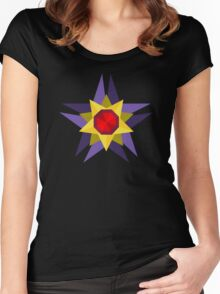 Geometric Starmie  Women's Fitted Scoop T-Shirt