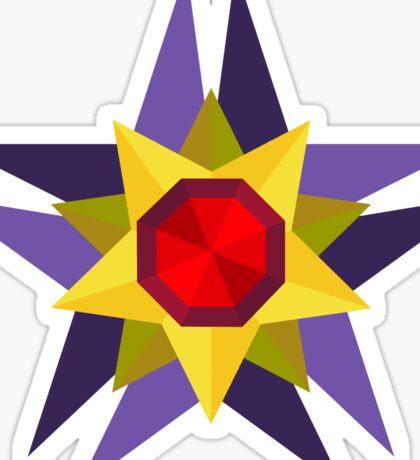 Geometric Starmie  Sticker