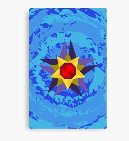 Geometric Starmie  Canvas Print