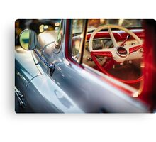 Chevy Pick Up Close Up Canvas Print
