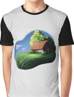 Cottage  Graphic T-Shirt