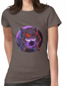 Pokemon - Gengar / Ghost Womens Fitted T-Shirt