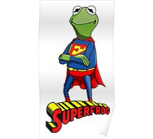 Kermit the Superman Poster