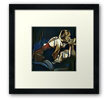 A Passion Play Framed Print