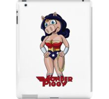 Miss Piggy the Wonder Woman iPad Case/Skin