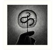 Drawlloween 2014: Candy Art Print