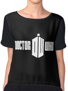 doctor who dr who Chiffon Top