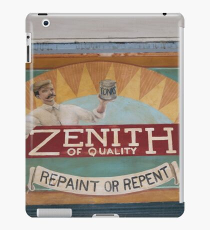 Zenith for Quality iPad Case/Skin