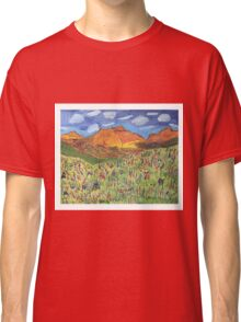 Patches Mountain Classic T-Shirt