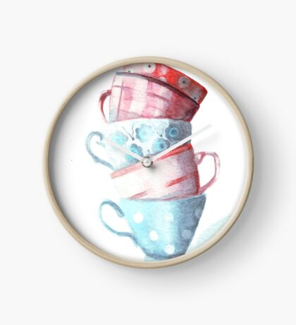 Teacup Tower Clock