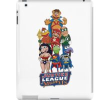 Justice League of Muppets iPad Case/Skin
