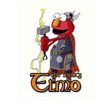 Elmo the Thor Art Print