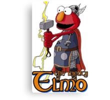 Elmo the Thor Canvas Print