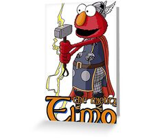Elmo the Thor Greeting Card